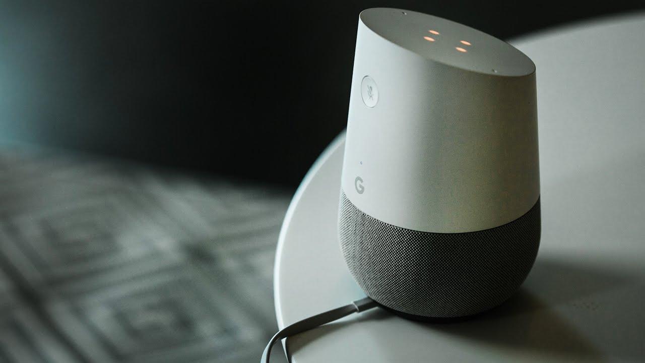 голосовой помощник Google Home